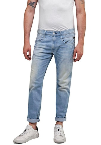 Replay Slim-fit-Jeans »ANBASS«, Superstretch im Used-Look kaufen