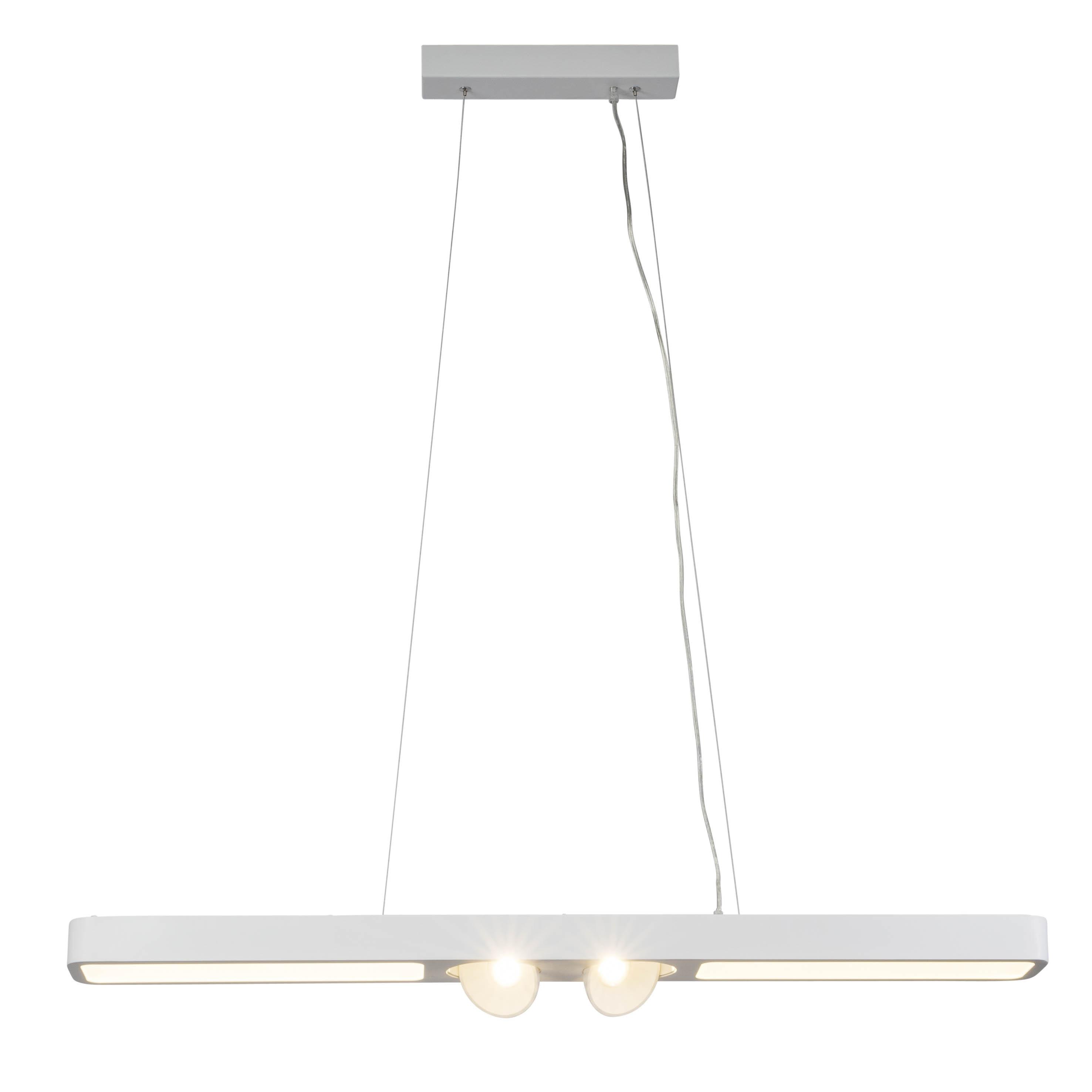 AEG Leca LED Pendelleuchte 108cm 4flg weiß