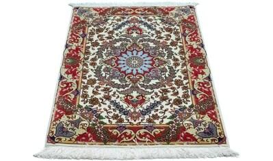 morgenland Wollteppich »Täbriz Teppich handgeknüpft beige«, rechteckig, 10 mm Höhe kaufen