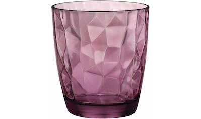 Bormioli Rocco Whiskyglas »Diamond«, (Set, 6 tlg.), effektvolle Struktur kaufen