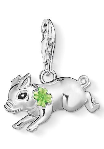 THOMAS SABO Charm - Einhänger »Schweinchen mit Kleeblatt, 1561 - 007 - 21« kaufen