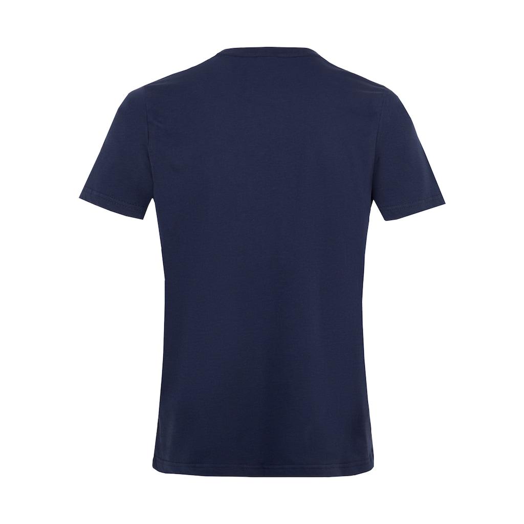 Reusch T-Shirt »Shirt Essentials«, mit angenehmem Rundhalskragen