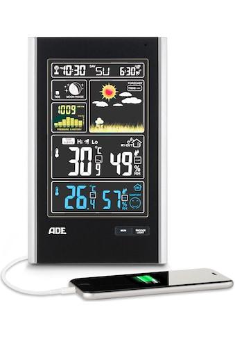 ADE »WS 1600« Funkwetterstation (mit Außensensor) kaufen