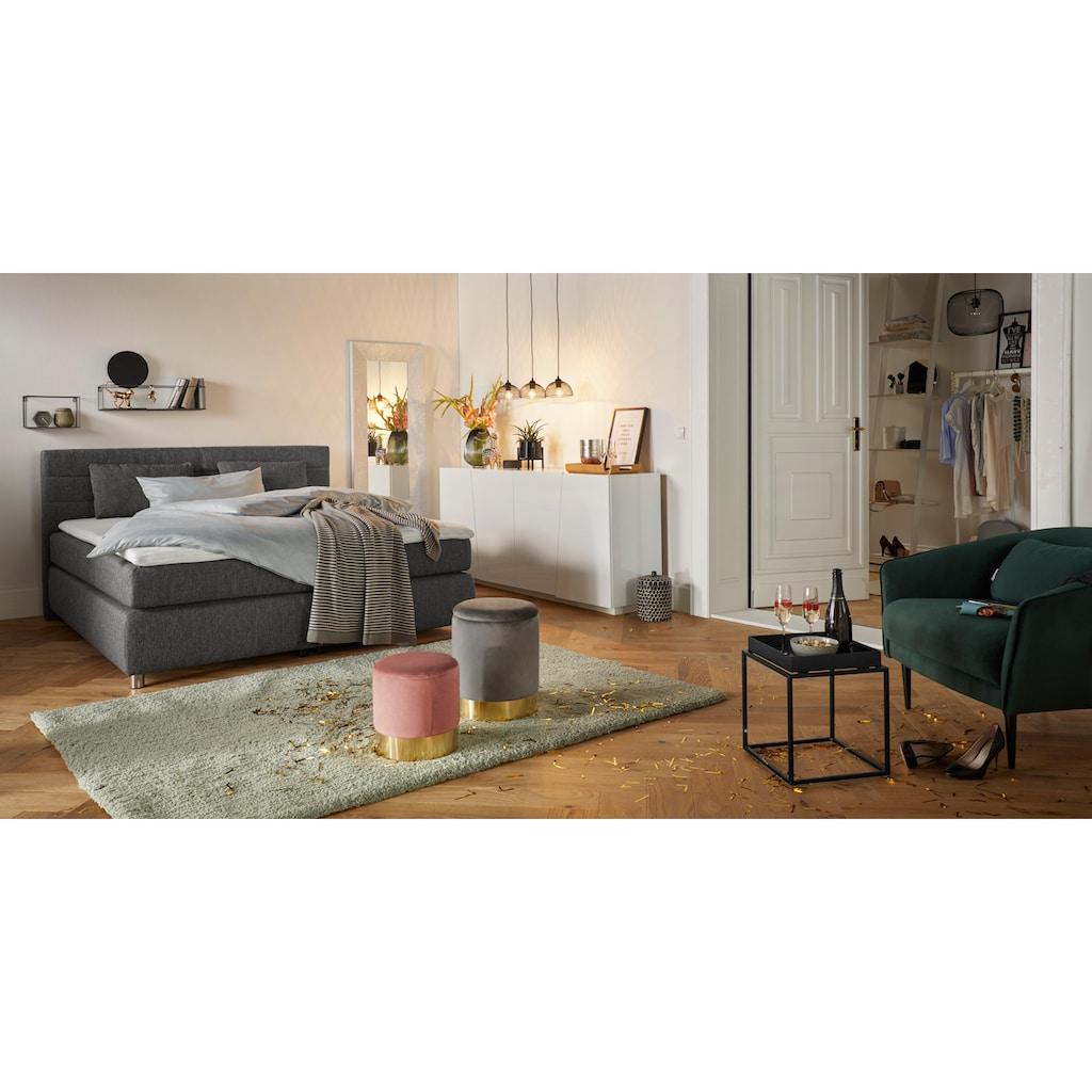 Places of Style Pendelleuchte »MASH SHADE«, E27, Hängelampe mit Schirm aus Drahtgeflecht im trendigen Design