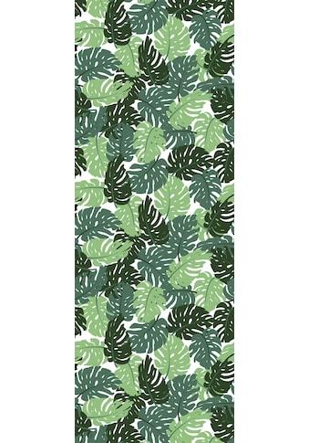 queence Vinyltapete »Monstera«, 90 x 250 cm, selbstklebend kaufen