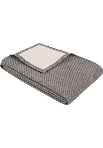 IBENA Wolldecke »Baumwoll-Tencel Decke Tennessee«, schlicht kaufen