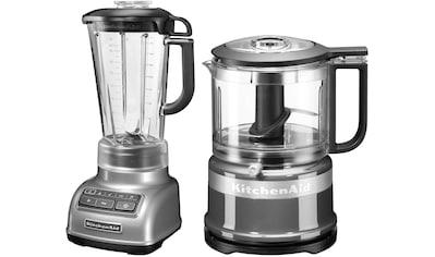 KitchenAid Standmixer 5KSB1585ECU und Mini Zerkleinerer 5KFC3516, 550 Watt kaufen