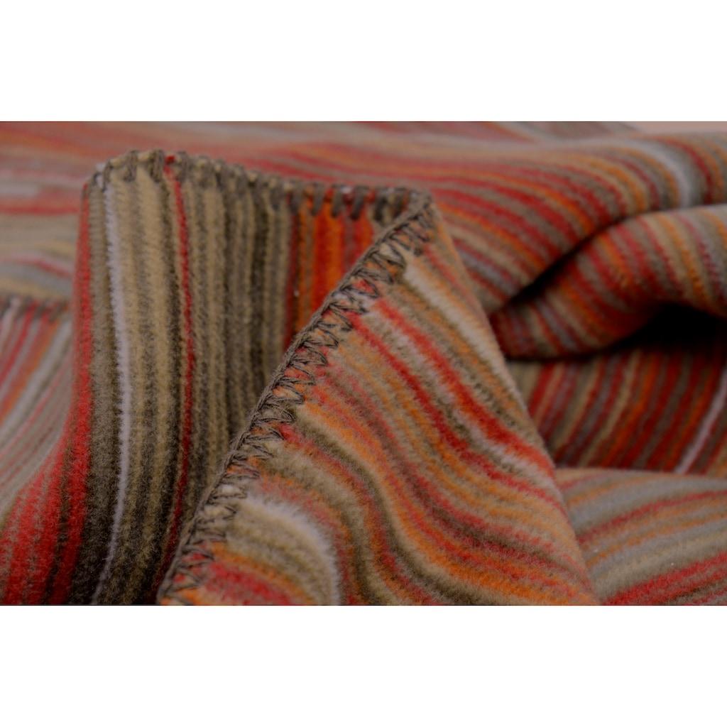 BIEDERLACK Wohndecke »Lost Thread«, hergestellt aus einem Materialmix