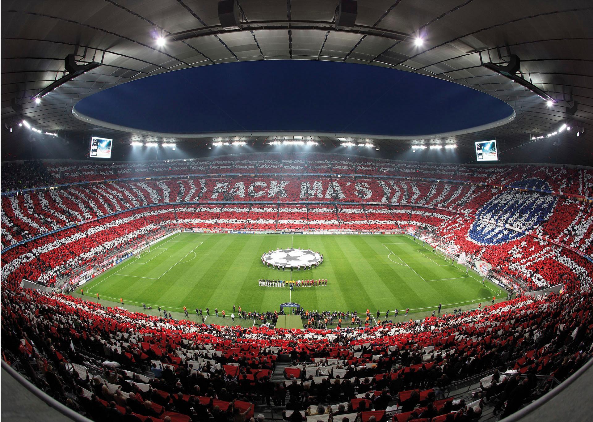 Fototapete Bayern München Stadion Choreo Pack Mas Wohnen/Accessoires & Leuchten/Wohnaccessoires/Wandtattoos und Wandsticker/Wandtattoos Fußball