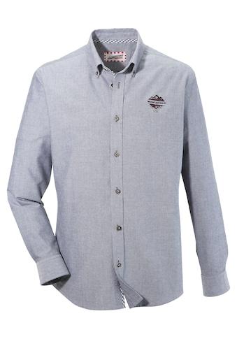 """Andreas Gabalier Kollektion Trachtenhemd, mit """"Mountainman"""" Stick kaufen"""