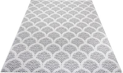 Home affaire Teppich »Maren«, rechteckig, 3 mm Höhe, Wohnzimmer, In- und Outdoor geeignet kaufen