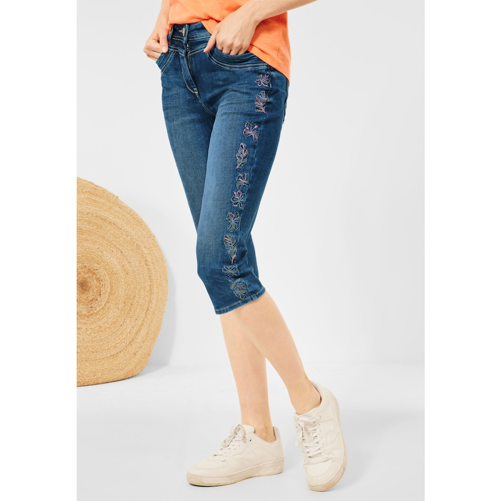Cecil 3/4-Jeans, 5-Pockets Style