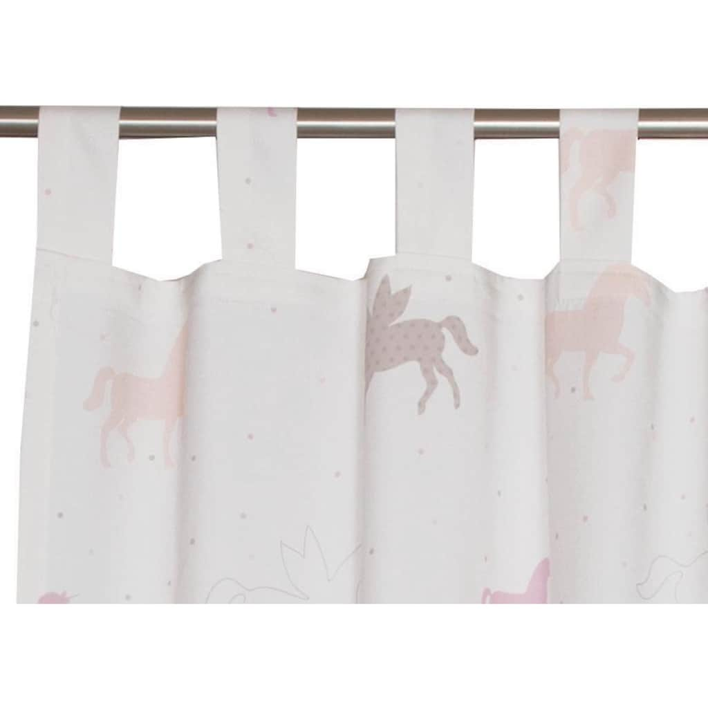 Esprit Vorhang »E-Unicorn«, HxB: 250x140, bedruckt mit Einhorn-Motiv