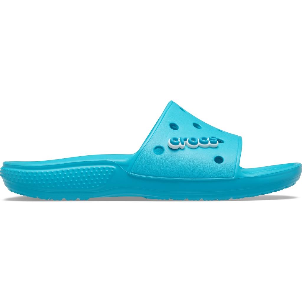Crocs Badesandale »Classic Crocs Slide«, mit coolem Jibbitz