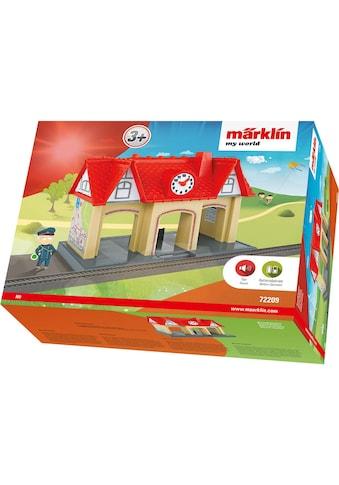 """Märklin Modelleisenbahn - Gebäude """"Märklin my world  -  Soundbahnhof  -  72209"""", Spur H0 kaufen"""