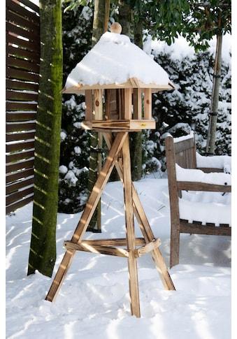 dobar green label Vogelhaus »Brillo«, BxTxH: 45x45x47 cm, mit Futtersilo im Inneren,... kaufen