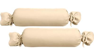 Biberna Nackenrollenbezug »Oliver«, (2 St., 1 Pack mit 2 Stück), Jersey (1 Pack mit 2... kaufen