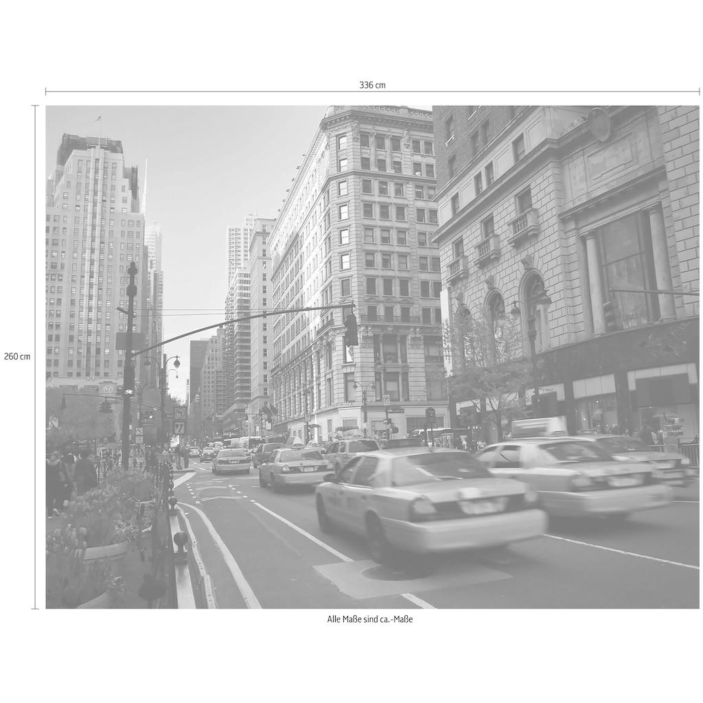 Wall-Art Vliestapete »Cabs in Manhattan«