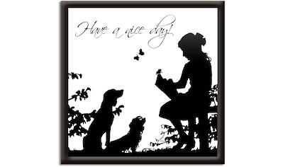 Artland Wandbild »Hab einen schönen Tag«, Sprüche & Texte, (1 St.) kaufen