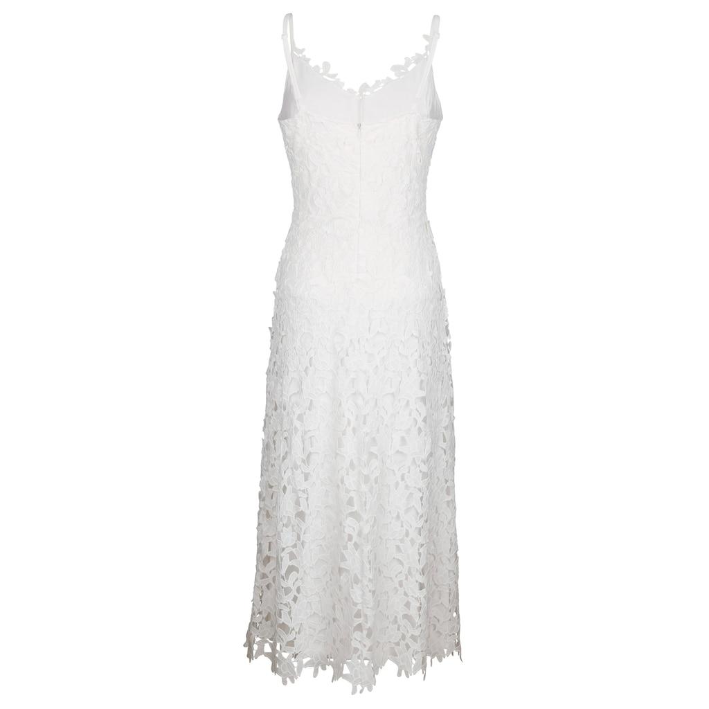Alba Moda Strandkleid aus ausdrucksstarker Spitze