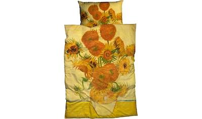 Goebel Bettwäsche »Sonnenblume«, mit floralem Dessin kaufen