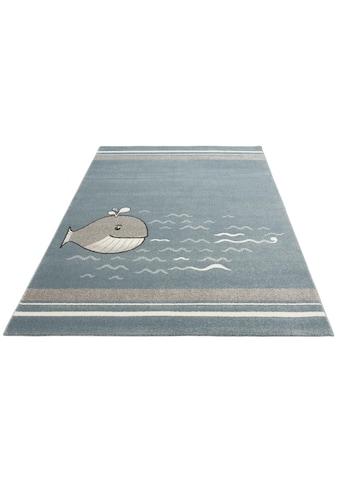 Kinderteppich, »Whale«, Lüttenhütt, rechteckig, Höhe 14 mm, maschinell gewebt kaufen