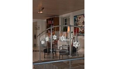 KONSTSMIDE LED-Lichtervorhang, 30 St.-flammig, LED Acryl Schneeflocken Lichtervorhang,... kaufen