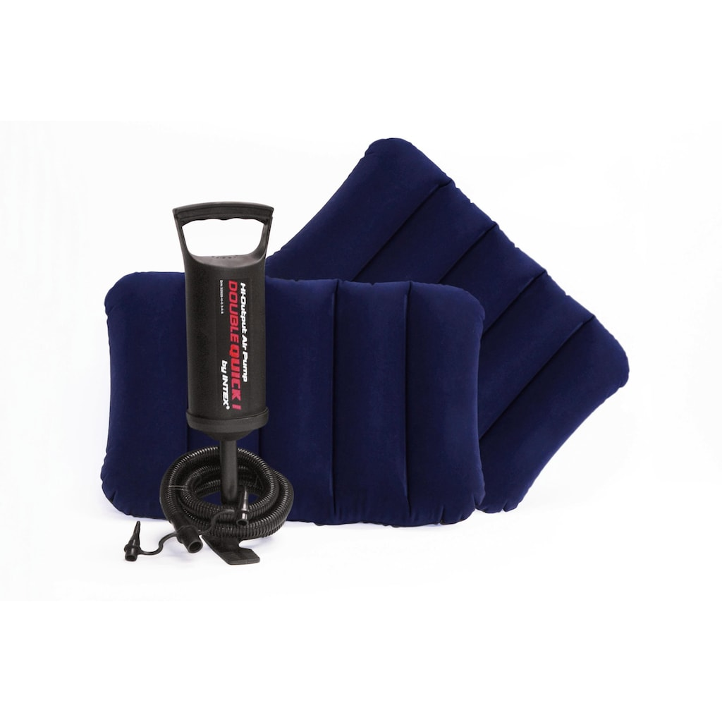 Intex Luftbett »DURA-BEAM® Classic Downy Airbed-Set«, (Set)