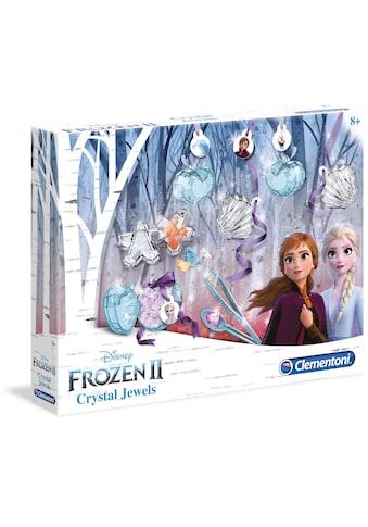 Clementoni® Experimentierkasten »Disney Frozen 2 - Magische Schmuckkristalle«, Made in... kaufen
