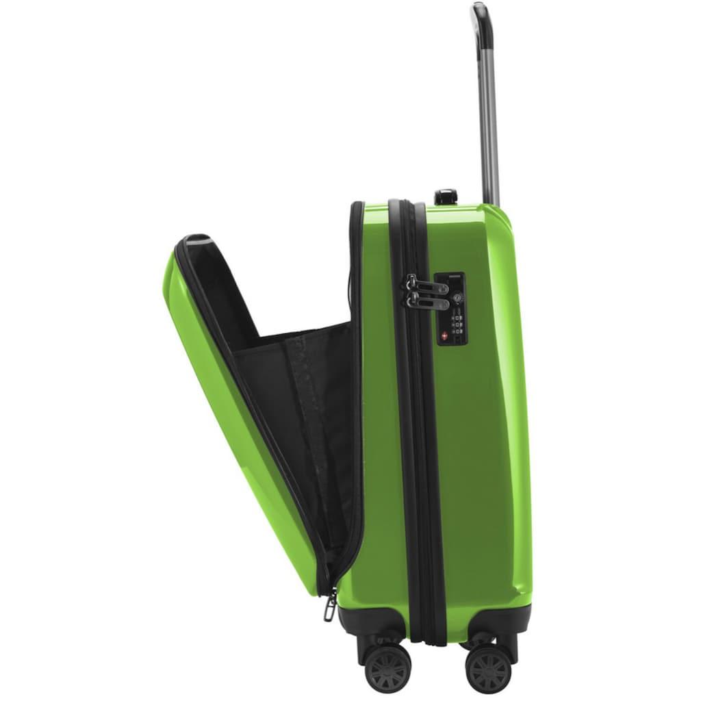 Hauptstadtkoffer Hartschalen-Trolley »Trolley X-Berg Glanz«, 4 Rollen