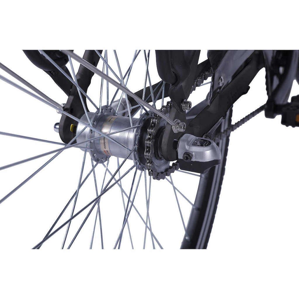 LLobe E-Bike »Metropolitan JOY schwarz 8Ah«