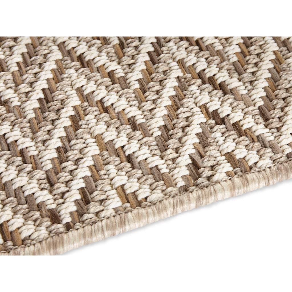 ELLE Decor Teppich »Caen«, rechteckig, 8 mm Höhe, In- und Outdoor geeignet, Wohnzimmer