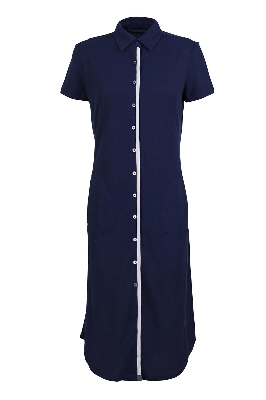 SUPERNATURAL Sommerkleid W WATERFRONT PIQUET DRESS