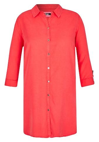 FRAPP Klassische Hemdbluse in Uni - Design kaufen