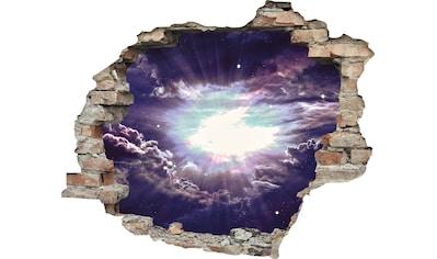 queence Wandtattoo »lila Wolken« kaufen