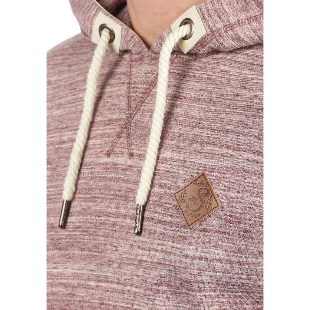 Solid Hoodie »Kevin«, Kapuzensweatshirt mit Fleece-Innenseite