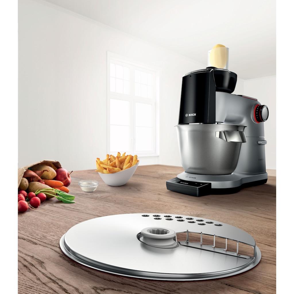 BOSCH Schneideaufsatz »MUZ9PS1 Pommes-Frites-Scheibe«, (1 tlg.), für die einfache und schnelle Zubereitung von selbstgemachten, frischen Pommes frites.