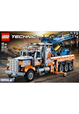 LEGO® Konstruktionsspielsteine »Schwerlast-Abschleppwagen (42128), LEGO® Technic«,... kaufen