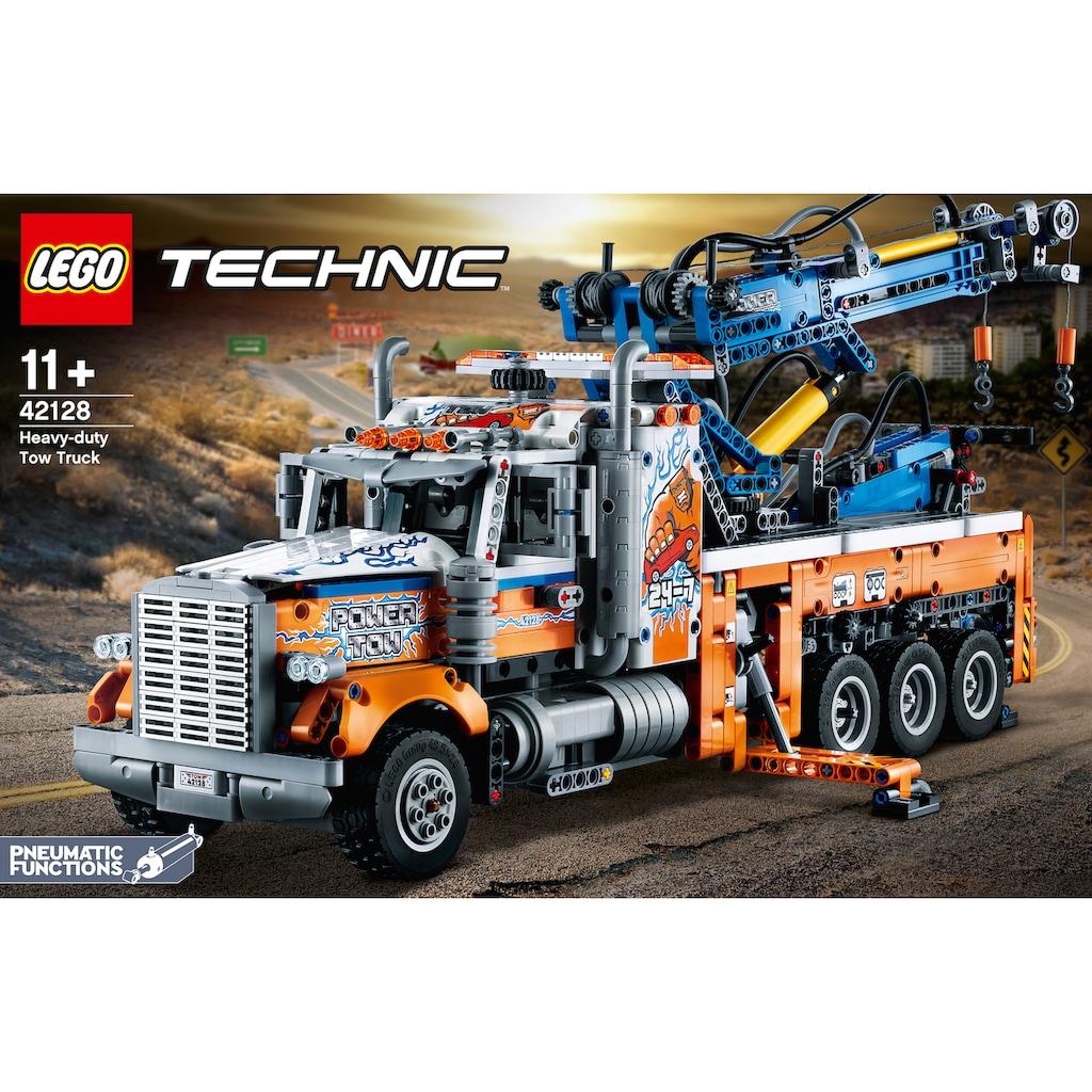 LEGO® Konstruktionsspielsteine »Schwerlast-Abschleppwagen (42128), LEGO® Technic«, (2017 St.), Made in Europe