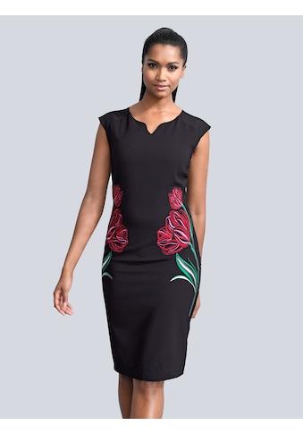 Alba Moda Kleid mit edler Stickerei kaufen