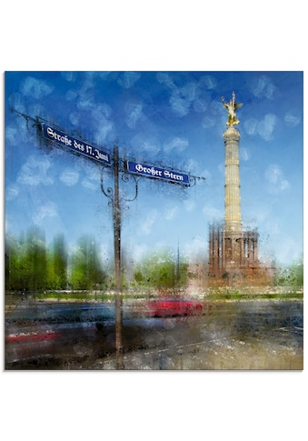Artland Glasbild »Berlin Siegessäule II« kaufen