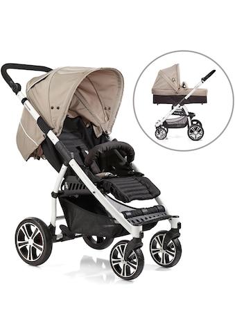 Gesslein Kombi-Kinderwagen »S4 Air+, Weiß/Camel & Babywanne C3 Camel/Black«, ;... kaufen