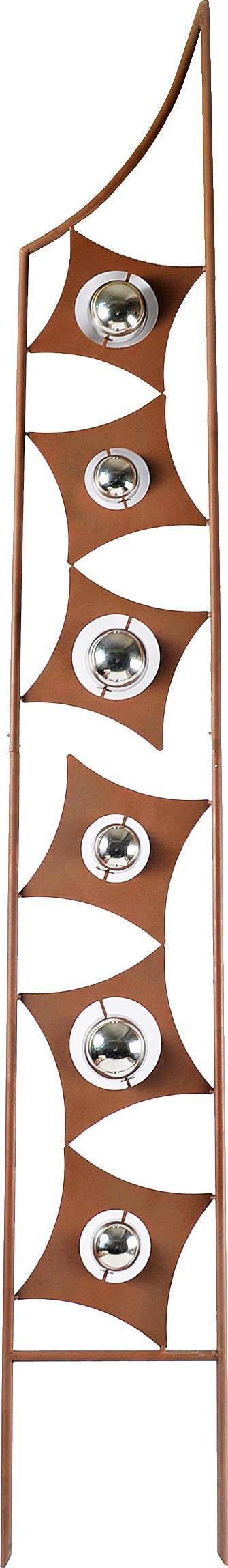 Home affaire Deko-Windrad Rusty Metal Wohnen/Möbel/Gartenmöbel & Gartendeko/Gartendekoration/Weitere Gartendekoration