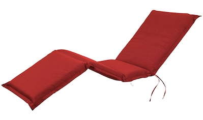 indoba Liegenauflage »Premium«, extra dick - Rot- IND-70437-AUSL kaufen