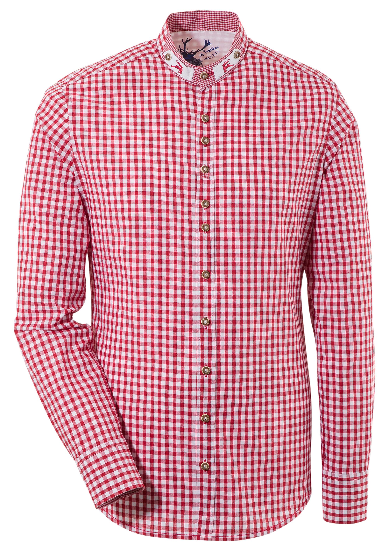 OS-Trachten Trachtenhemd im Karodesign | Bekleidung > Hemden > Trachtenhemden | OS-Trachten