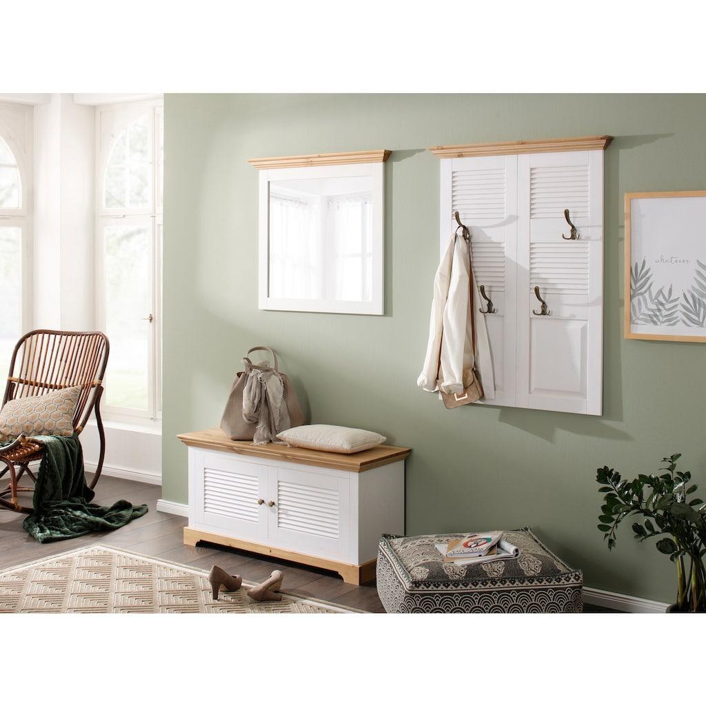 Home affaire Garderobenpaneel »Ayanna«, Aus Massivholz