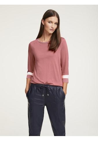 Shirt mit Strickbündchen kaufen