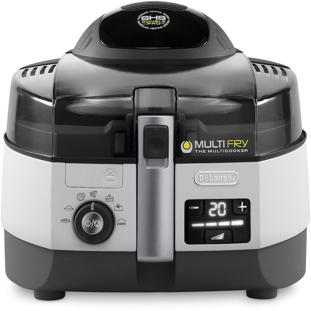 De'Longhi Heissluftfritteuse »MultiFry EXTRA CHEF FH1394«, Multicooker mit 4-in-1 Funktion, auch zum Brotbacken