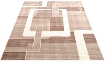 Home affaire Teppich »Anesa«, rechteckig, 12 mm Höhe, mit handgearbeitetem... kaufen