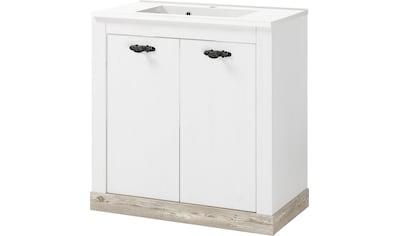 Home affaire Waschtisch »Florenz«, Breite 82 cm, Mineralgussbecken, stehend kaufen